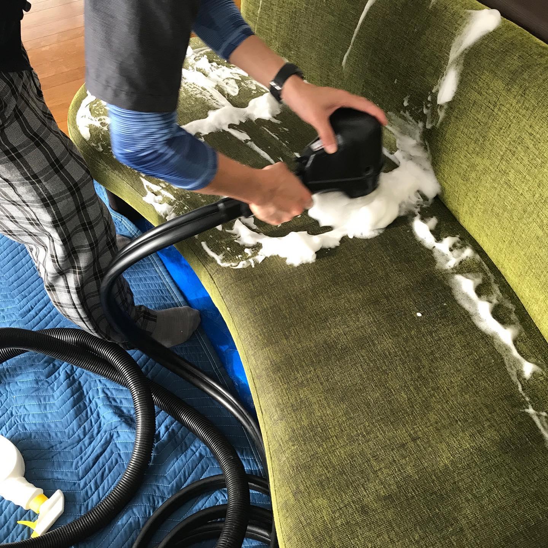 手稲前田にて、ペットの猫の粗相。猫のマーキングはなかなか厳しいことが多いのですが、今回は消臭剤がよく効きました。